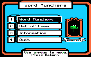Word Munchers Screenshot 2